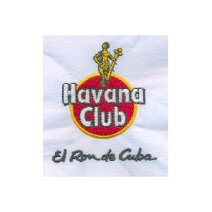 borduring Havana Club rum